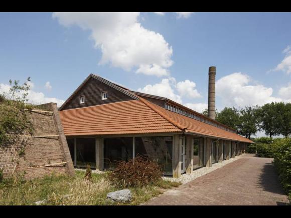 steenfabriek, nu woning, kantoor en expositieruimte, Gilze en Rijen